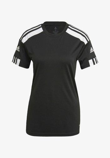 SQUADRA 21 - Print T-shirt - black/white