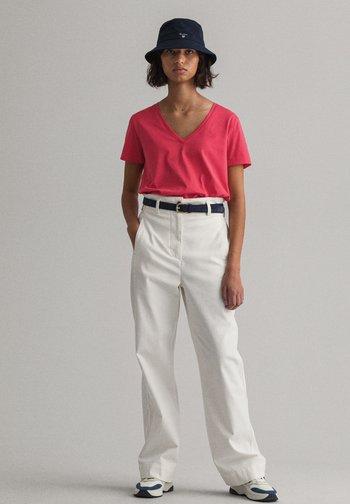 T-shirt basic - watermelon red