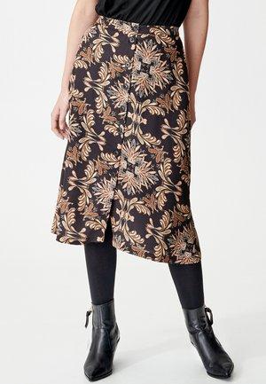 JENNIFER - A-line skirt - black