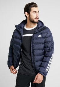 adidas Performance - ITAVIC STRIPES - Vinterjakker - dark blue - 0