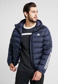 adidas Performance - ITAVIC STRIPES - Winter jacket - dark blue - 0