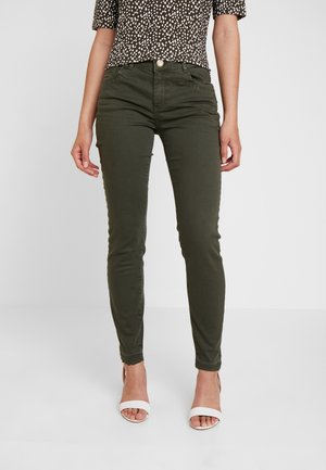 SUMNER COLOUR - Trousers - forest night