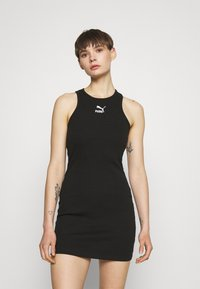 Puma - CLASSICS SUMMER DRESS - Vestido ligero - puma black - 0