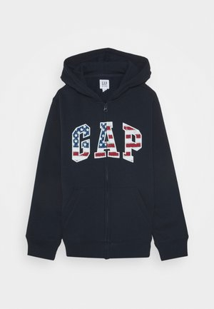 BOYS GAP ARCH HOOD - Zip-up hoodie - pure red