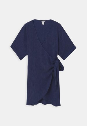 DRESS MOM LISEN - Day dress - dark dusty blue