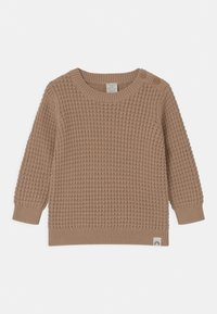 Lindex - WAFFLE UNISEX - Jumper - brown - 0