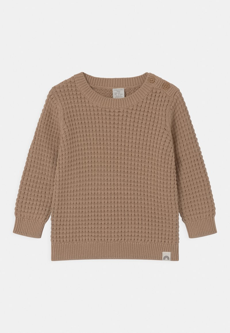 Lindex - WAFFLE UNISEX - Jumper - brown
