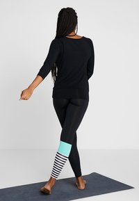 Hey Honey - LEGGINGS - Trikoot - surf style turquoise - 2