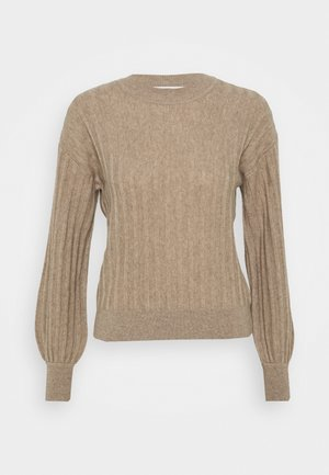BLOSSON - Jumper - taupe