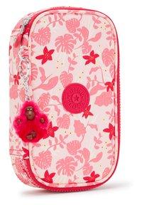 Kipling - Pencil case - pink leaves - 2