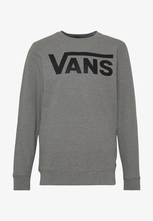 CLASSIC CREW - Sweater - cement heather-black