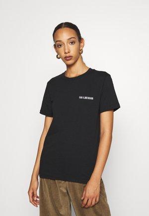 CASUAL TEE SHORT SLEEVE - Basic T-shirt - black logo