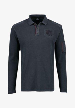 KNOPF - Polo shirt - blau