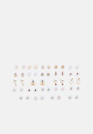 ASINI 23 PACK - Earrings - blush/clear/gold-coloured
