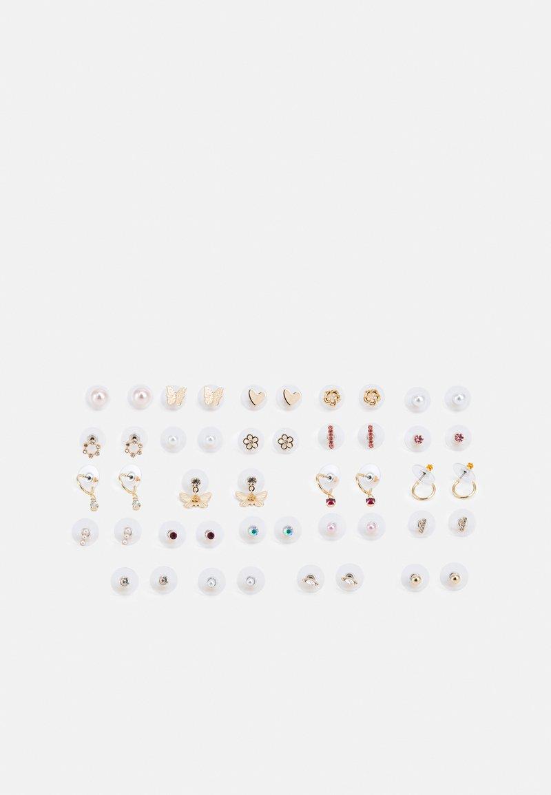 ALDO - ASINI 23 PACK - Earrings - blush/clear/gold-coloured