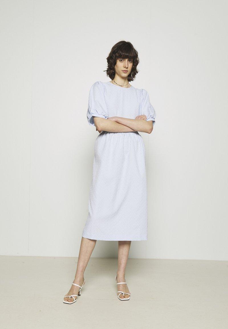 Second Female - LEAH DRESS - Day dress - brunnera blue