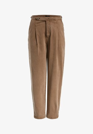 Trousers - rehbraun
