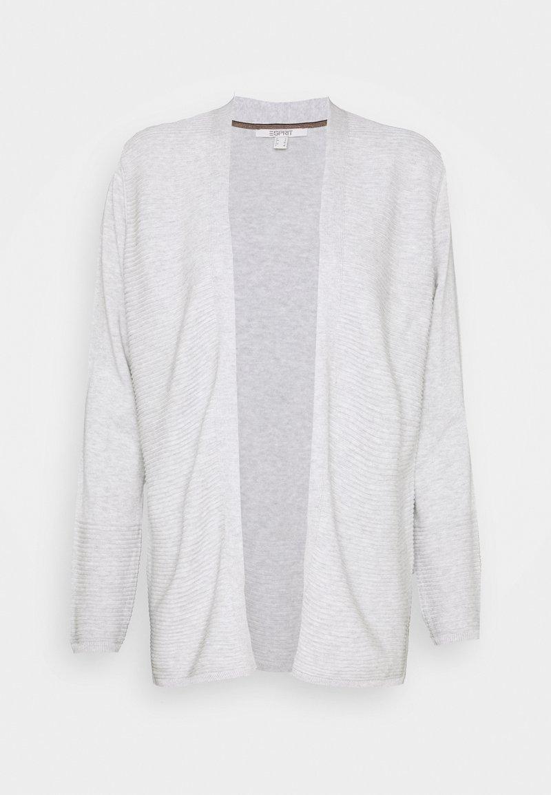 Esprit - CORE CARDI - Cardigan - light grey