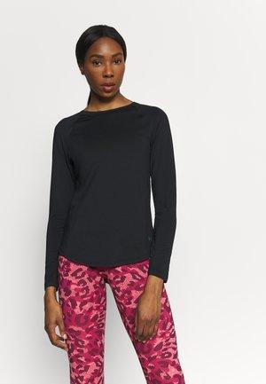 RUSH - T-shirt sportiva - black