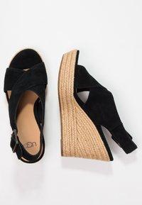 UGG - HARLOW - High heeled sandals - black - 3