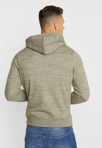 Blend - Zip-up hoodie - forest night green - 2