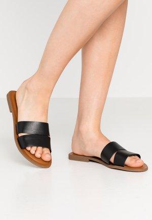 ANDONIA - Pantolette flach - black