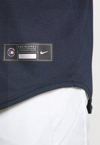 Nike Performance - MLB NEW YORK YANKEES OFFICIAL REPLICA HOME - Artykuły klubowe - team dark navy - 5