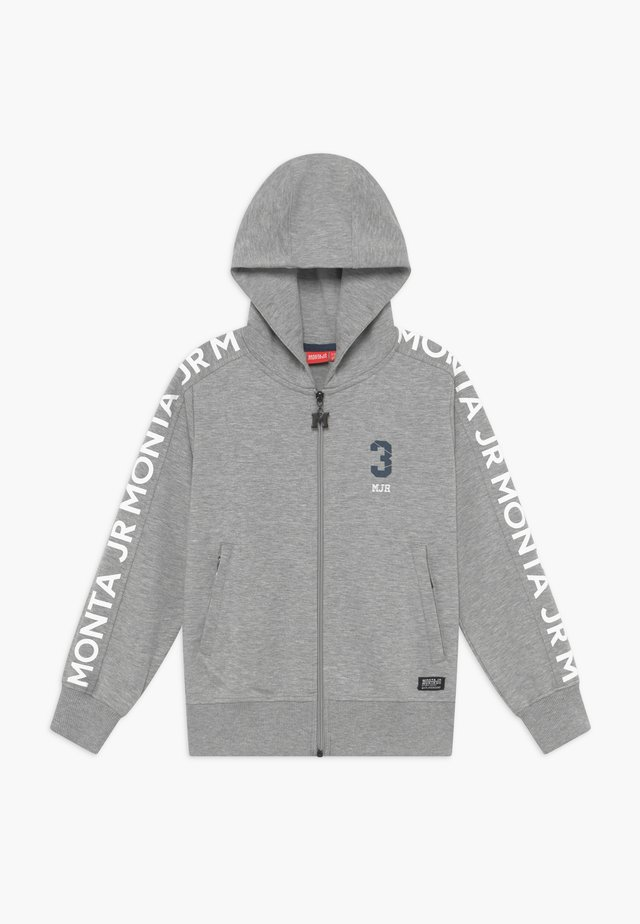 CRATO - Zip-up hoodie - heather grey