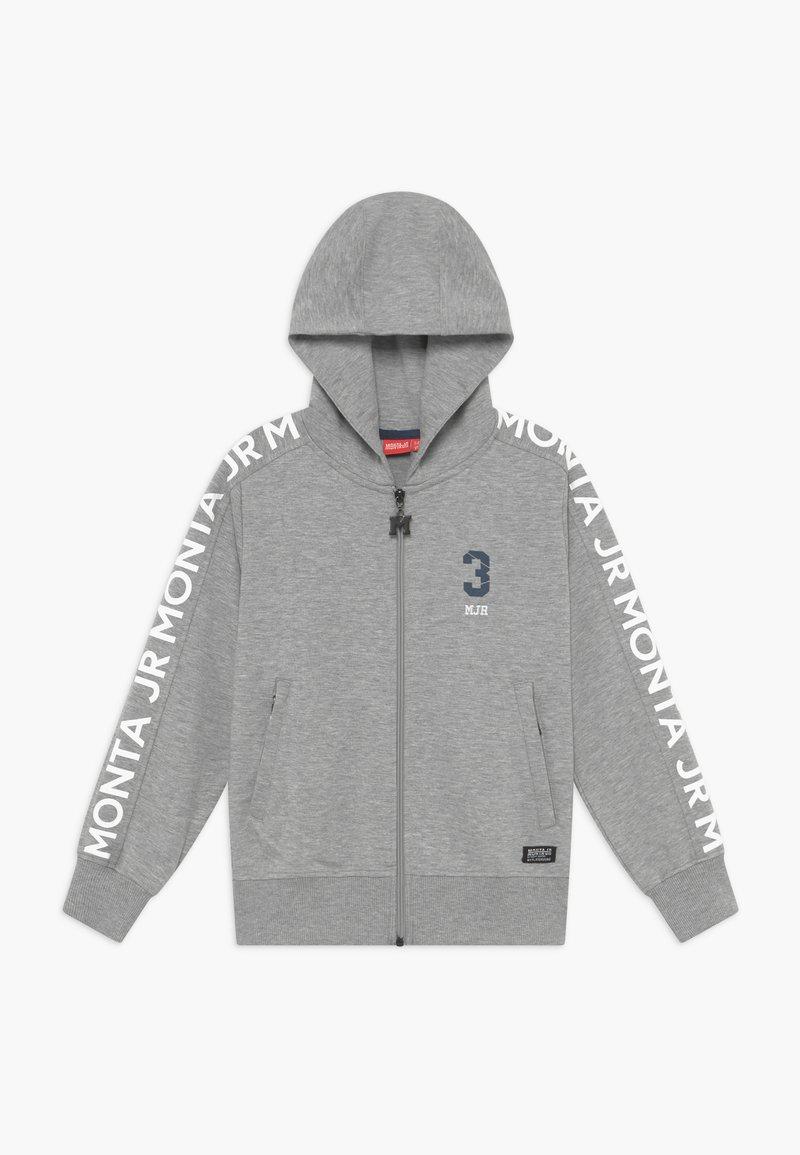 Monta Juniors - CRATO - Zip-up hoodie - heather grey