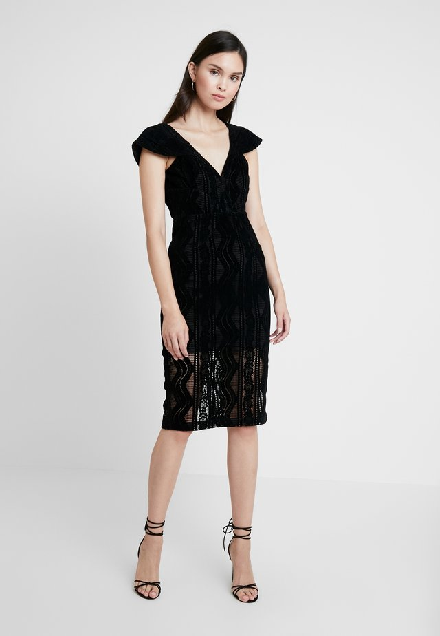 READ MY MIND DRESS - Cocktailjurk - black
