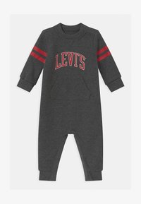 Levi's® - COLLEGIATE COVERALL UNISEX - Overall / Jumpsuit - charcoal heather - 0