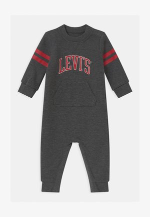 COLLEGIATE COVERALL UNISEX - Tuta jumpsuit - charcoal heather