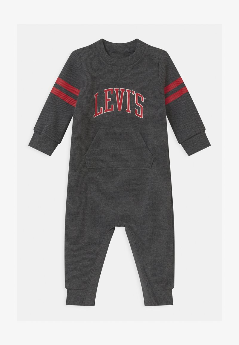 Levi's® - COLLEGIATE COVERALL UNISEX - Overall / Jumpsuit - charcoal heather