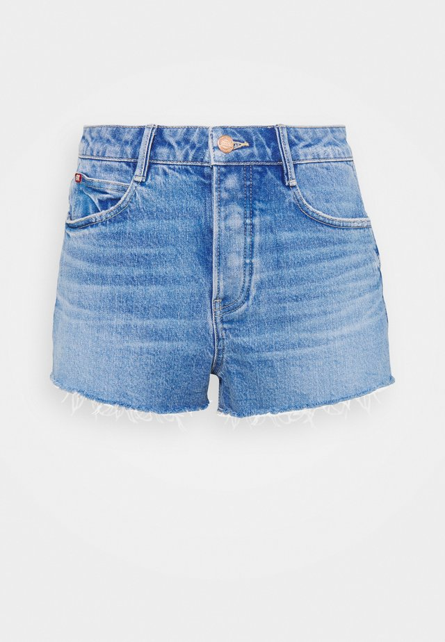 Jeansshort - middle blue