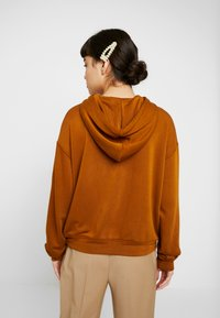 Samsøe Samsøe - CIRA HOODIE - Sweat à capuche - monks robe - 2