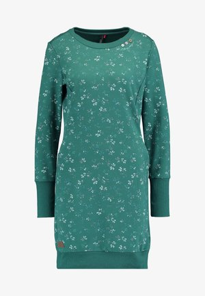 MENITA FLOWERS - Day dress - green