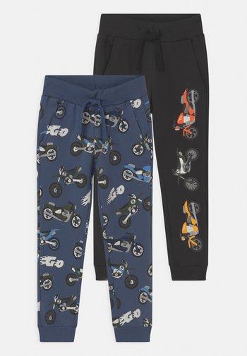 2 PACK - Spodnie treningowe - dark dusty blue