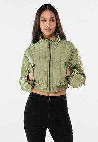 Bershka - Winter jacket - khaki - 0