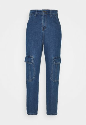 NEW YORK UNISEX - Jeansy Relaxed Fit - blue