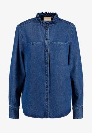 DIMAKB - Button-down blouse - light blue