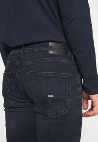 Tommy Jeans - SCANTON SLIM - Slim fit jeans - midnight extra dark blue - 6