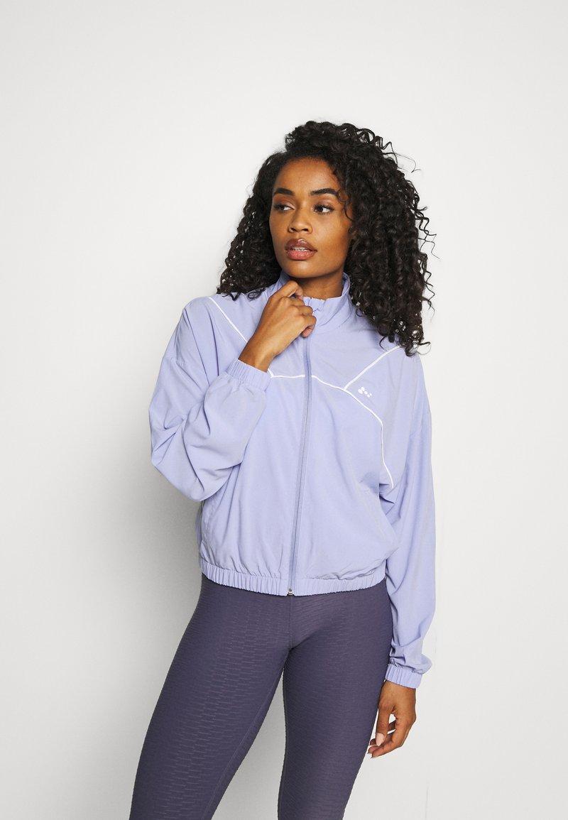 ONLY Play - ONPAIDAN ZIP JACKET - Training jacket - sweet lavender/white