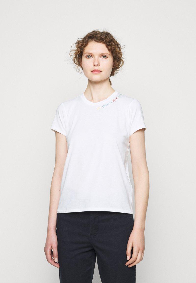 Polo Ralph Lauren - Jednoduché triko - white