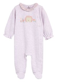 Next - 3 PACK HEDGEHOG SLEEPSUITS - Pyžamo - purple - 4