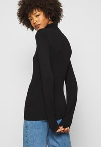 Anna Field - BASIC- TURTLE NECK - Jumper - black - 3