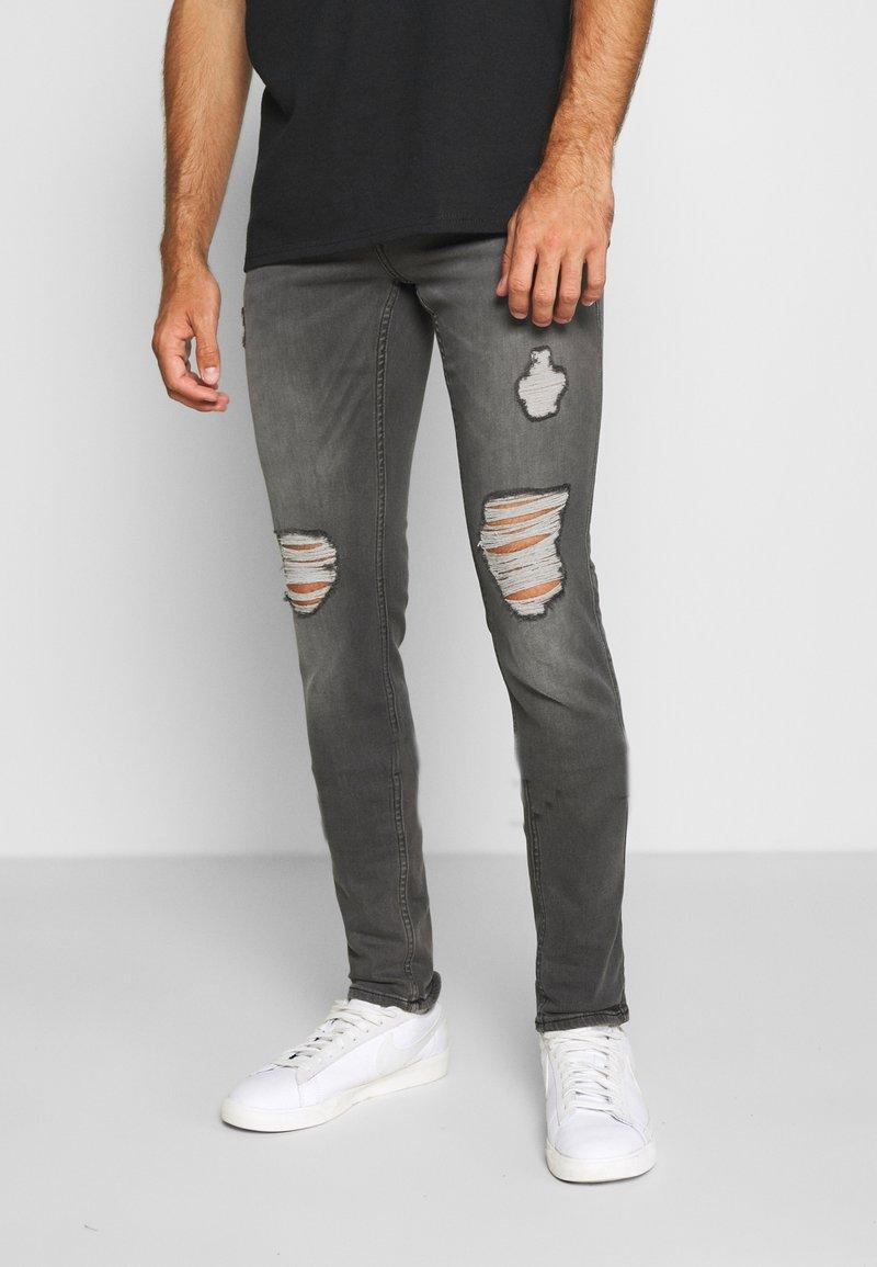 Hollister Co. - Skinny džíny - grey