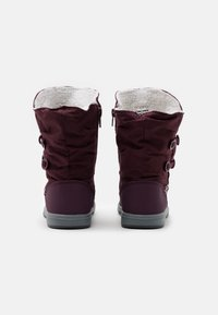 Kappa - CREAM UNISEX - Winter boots - purple/silver