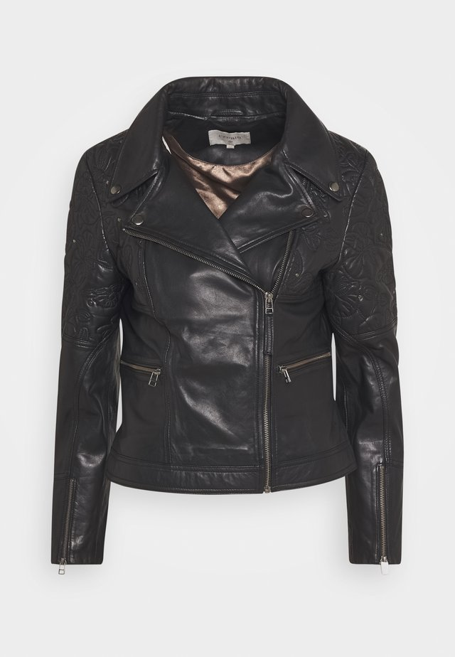 CARNIE JACKET - Giacca in similpelle - pitch black