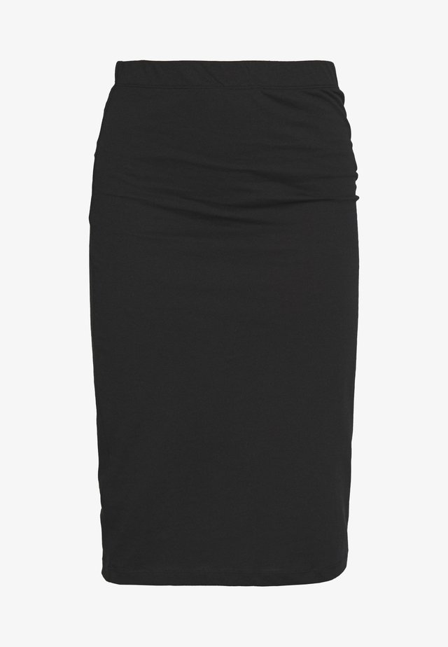 NMANJA SKIRT 2 PACK  - Kynähame - medium grey melange/black