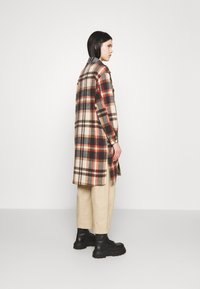 ONLY - ONLELLENE VALDA LONG CHACKET - Classic coat - blue/red - 2